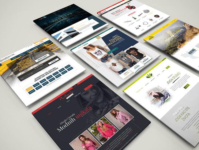 Veb dizajn - portfolio