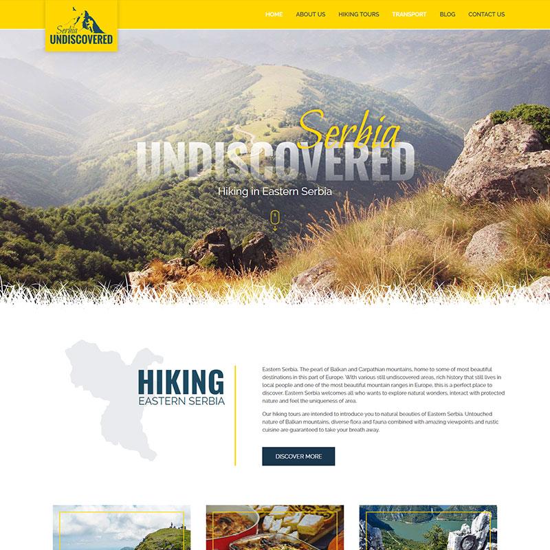 Veb dizajn - Serbia Undiscovered