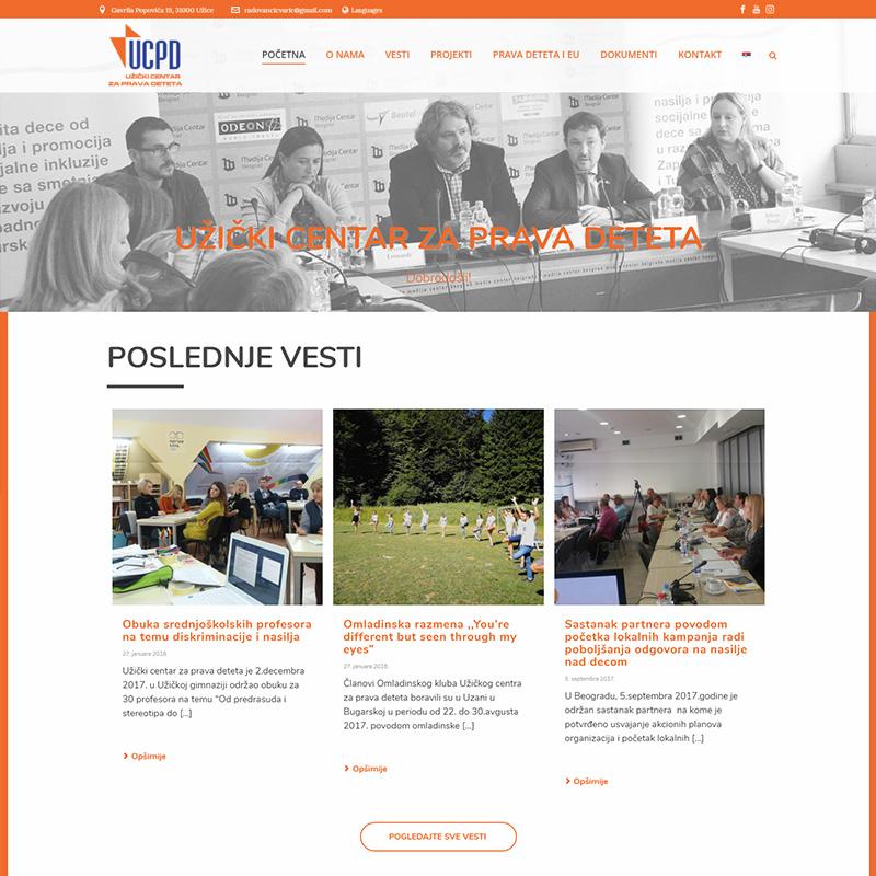 veb dizajn - UCPD