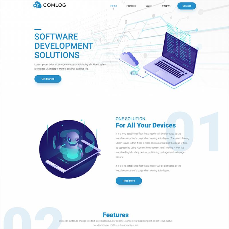 Veb dizajn - Comlog