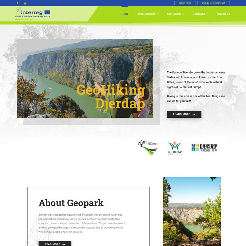 Izrada Sajta - GeoHiking Djerdap